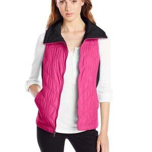 Columbia Women's Quilted Fleece Vest Mix It Around